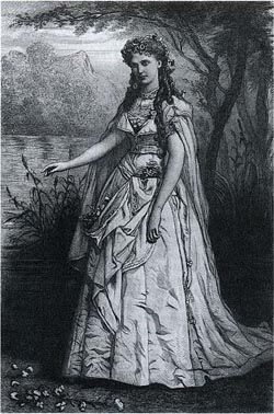 Christine Nilsson as Ophelia