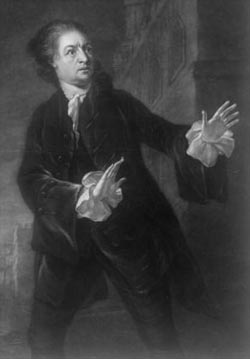 David Garrick as Hamlet